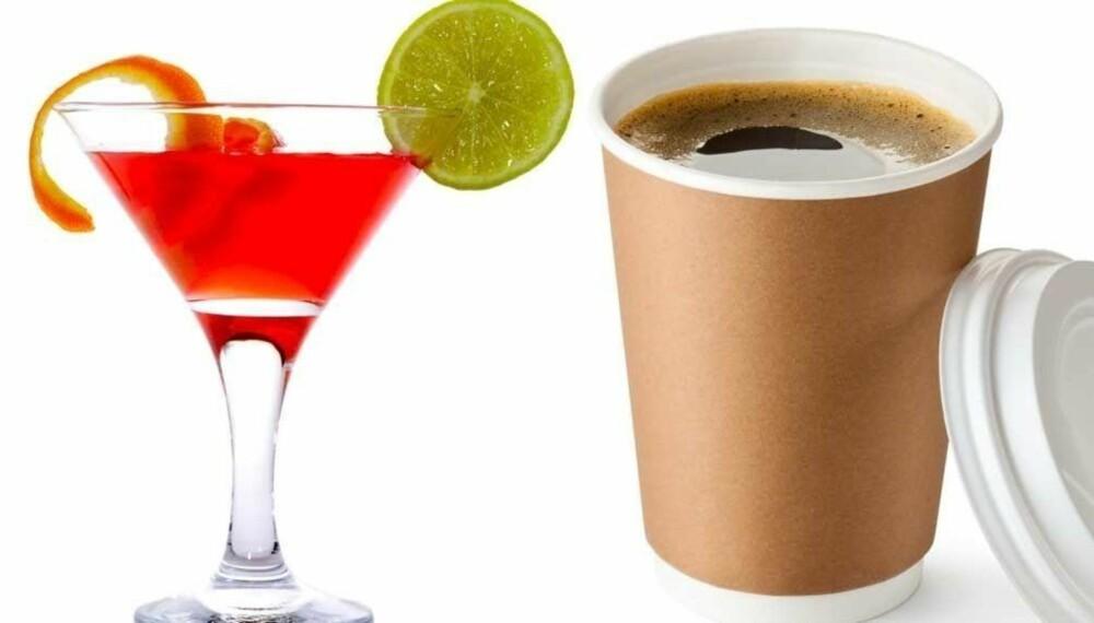 KUTTET UT: Tobias opplevde store forskjeller da han bestemte seg for å kutte ut kaffe og alkohol.