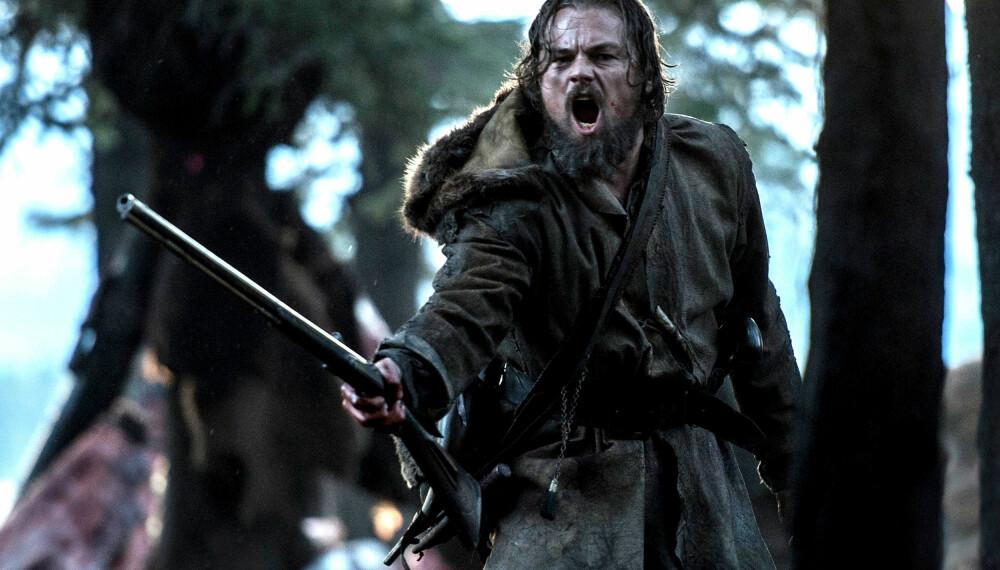 THE REVENANT: Leonardo DiCaprio leverer en kraftprestasjon.