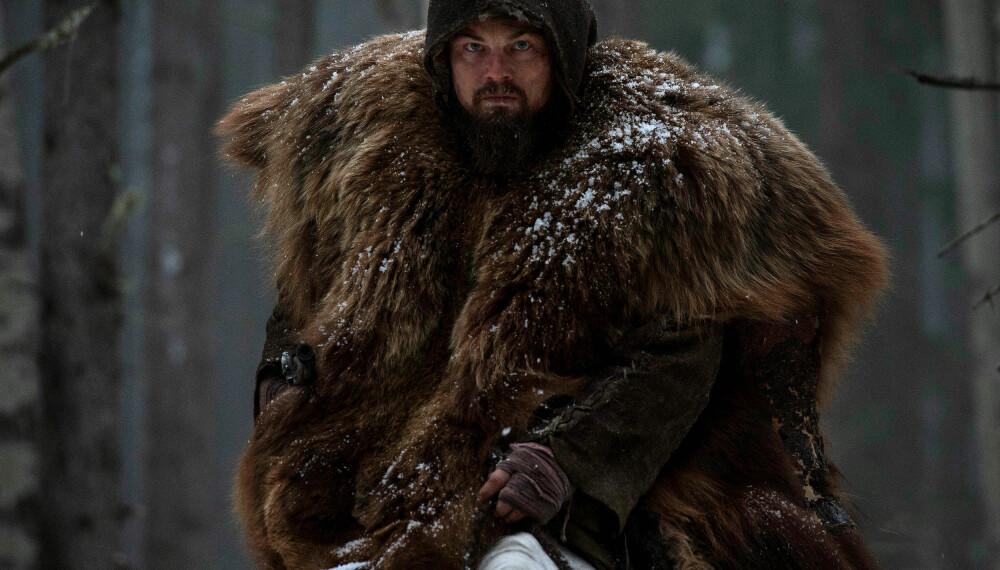 ALENE I ØDEMARKEN: Leonardo DiCaprio får nok Oscar for denne rollen.