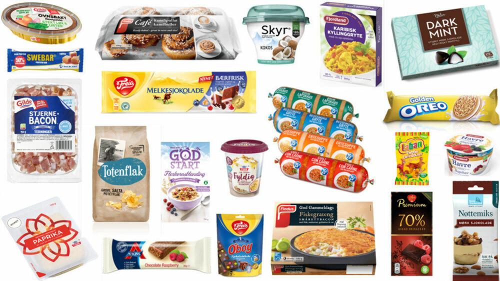 PRODUSENTENE FRISTER med nye mat- og drikkeprodukter i februar.