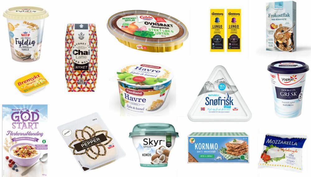 FROKOSTTIPS? Disse produktene kommer i butikk i februar.