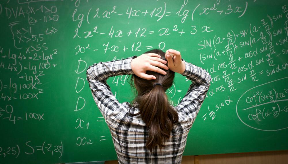 LÆRER: Det vil alltid være behov for lærere, og derfor er det et trygt yrke å velge. Foto: Colourbox