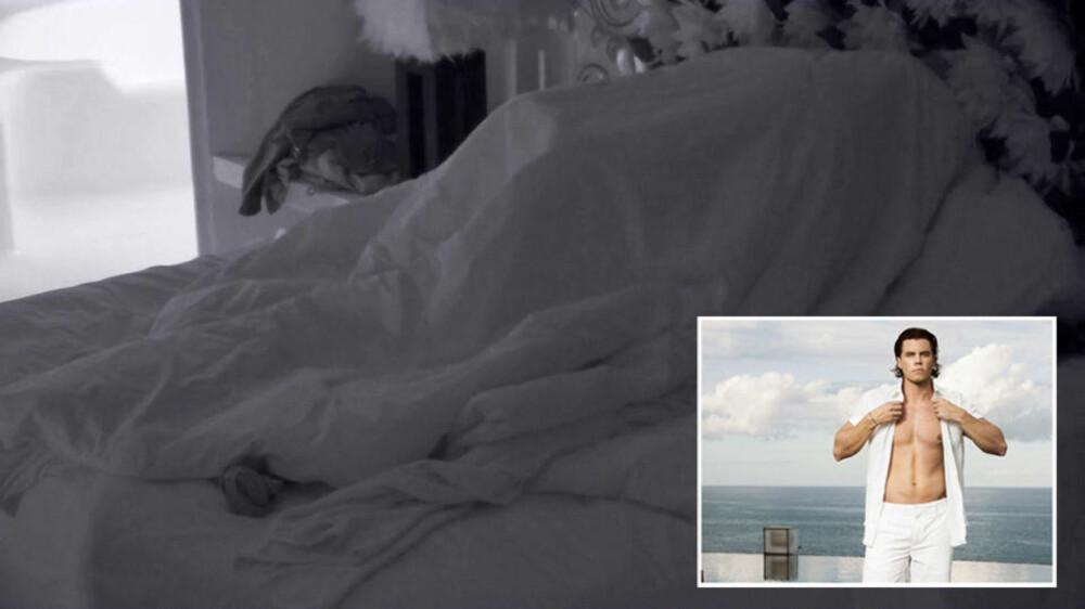 POPULÆR MANN: På under tre uker har Øystein havnet til sengs med to forskjellige Paradise-jenter.