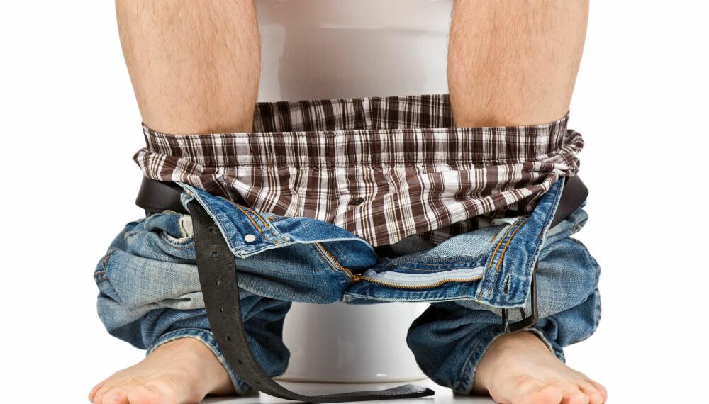 GÅ NÅR DU MÅ! Hjemme eller ei, kjenner du at du må på do så bør du komme deg på toalettet.