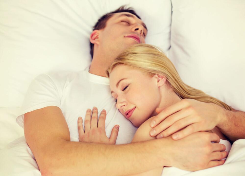 KOS: Oxytocin kalles også kjærlighetshormonet - det gjør deg søvning.