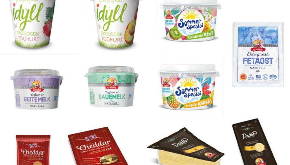 SYNNØVE FINDEN har lansert seks yoghurtnyheter nå i mai, men vi fant bare to av nyhetene i matbutikkene i Oslo sentrum.