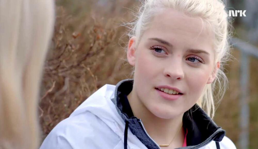 SKJØNNHET: Vilde (Ulrikke Falck) har den mer skandinaviske stilen i «Skam».