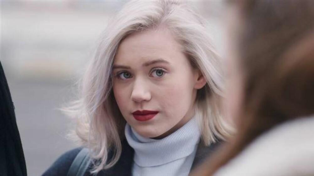 NOORA: Hovedpersonen i «Skam» serien er kjent for sine røde og tydelige lepper.
