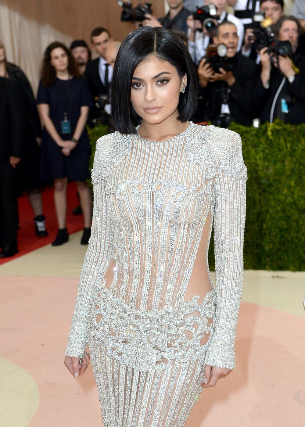 PÅ BALL: Kylie Jenner på Met Gala tidligere i år.
