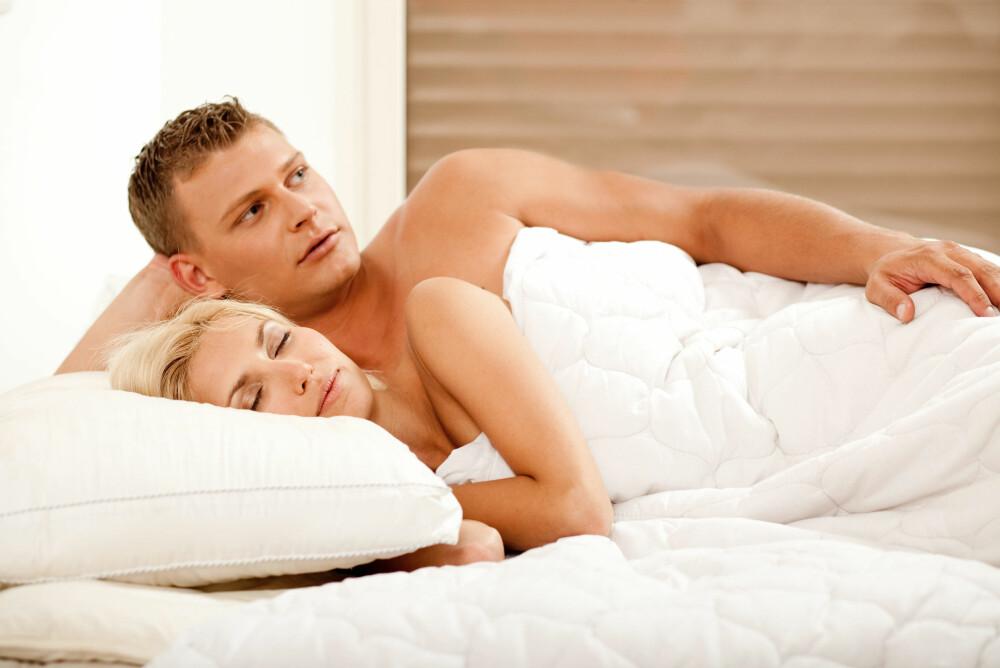 Å SOVE NAKNE SAMMEN kan styrke parforholdet.