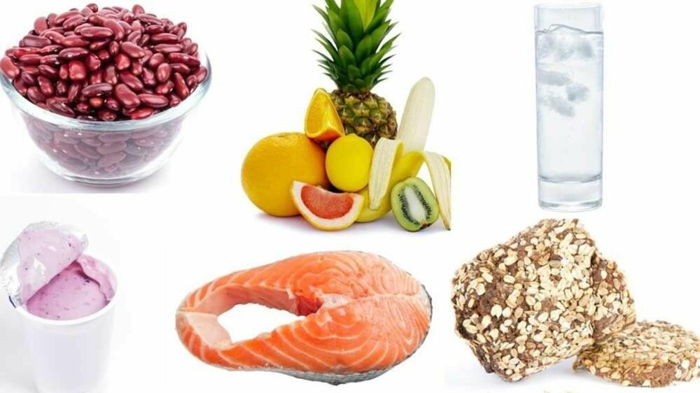 KOSTHOLD EN TOPPIDRETTSUTØVER VERDIG: Alle disse matvarene bør også være en del av et sunt og balansert kosthold for de fleste.