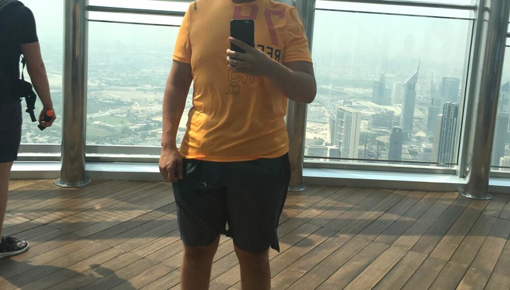 I SOMMER reiste Per Arne til Dubai der han tok intensivkurs i Personlig Trener-utdannelse.