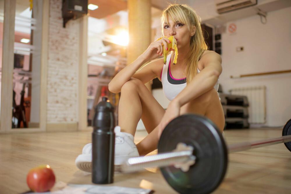 Etter trening bør du fylle på med karbohydrater og protein.