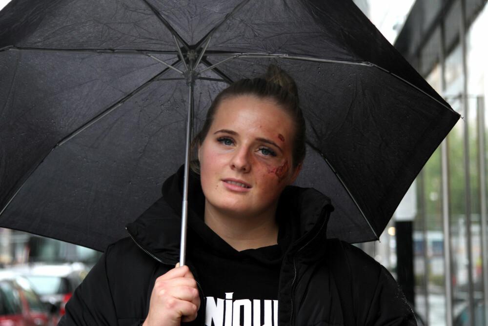 Martine Halvorsen ble angrepet utenfor sin egen leilighet i Norrköping, Sverige, torsdag forrige uke.