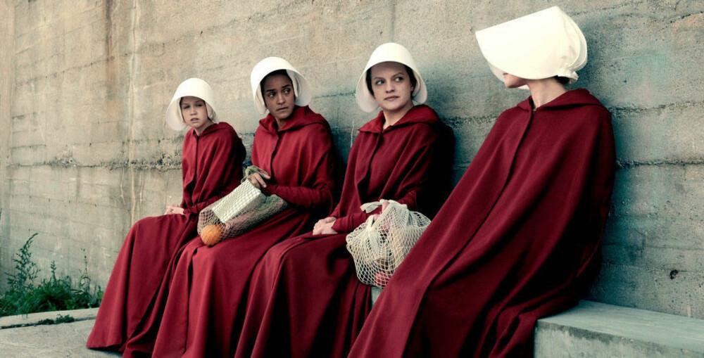 THE HANDMAID'S TALE: Den enormt populære serien kan sees på HBO.