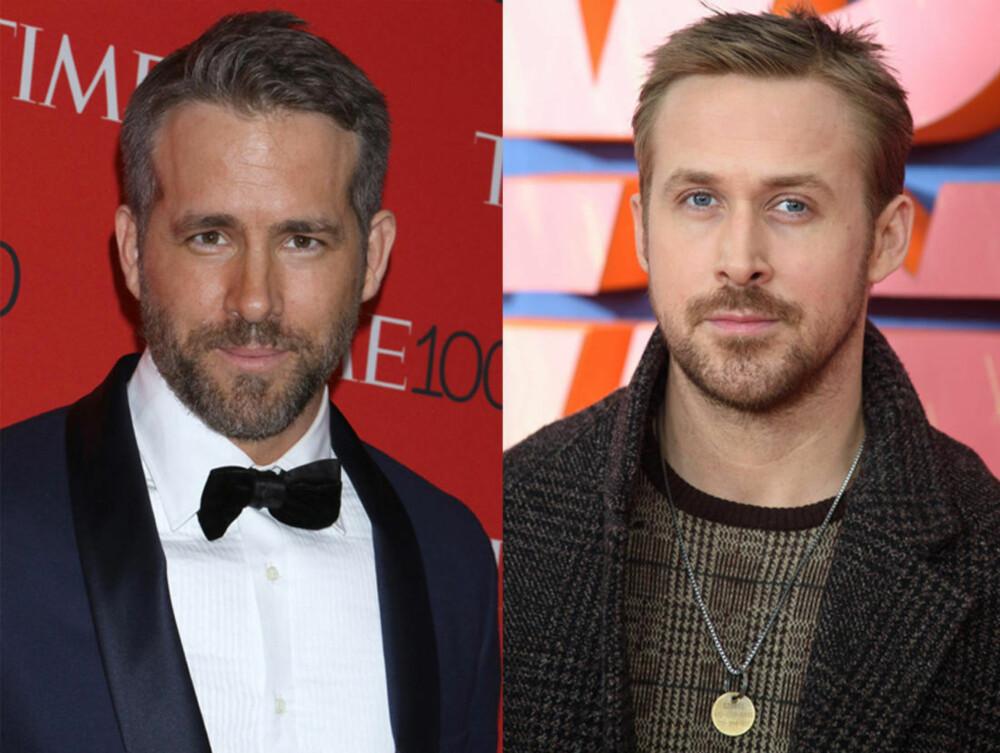 Ryan Reynolds og Ryan Gosling.