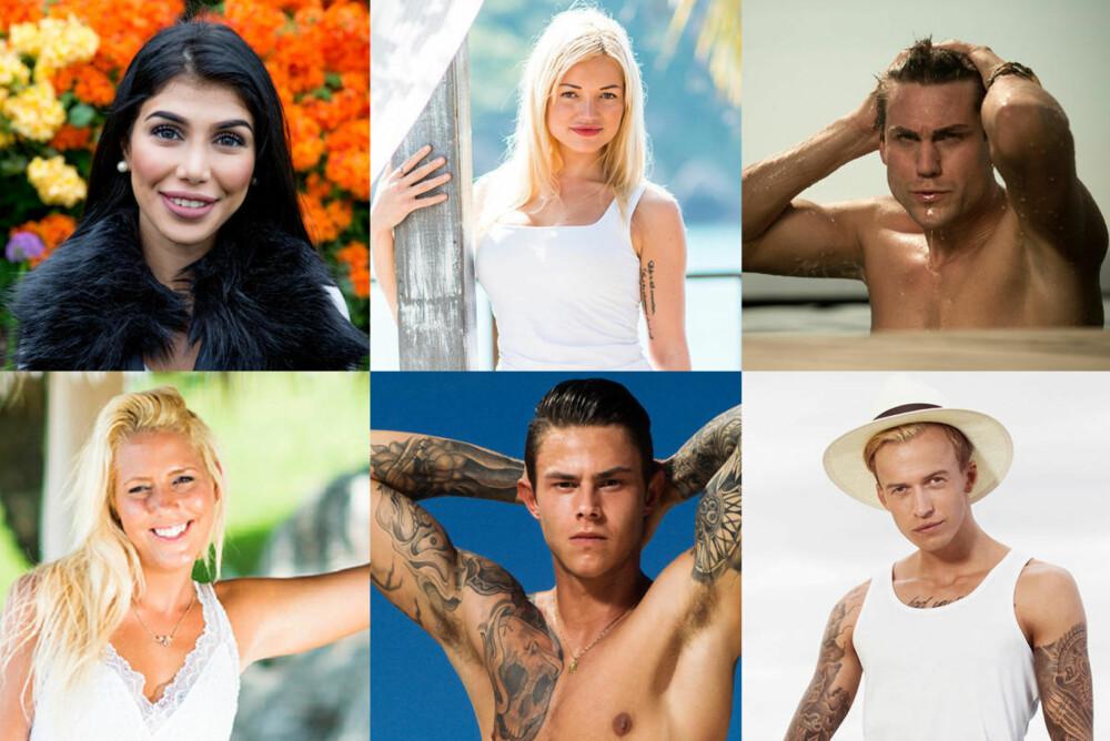 Isabel Raad, Ann Marielle Lipinska, Magne Robberstad, Aurora Gude, Pierre Louis og Carl Aksen Jansen er alle kjente fjes fra Paradise som du kan få et gjensyn med på Paradise Hotel.