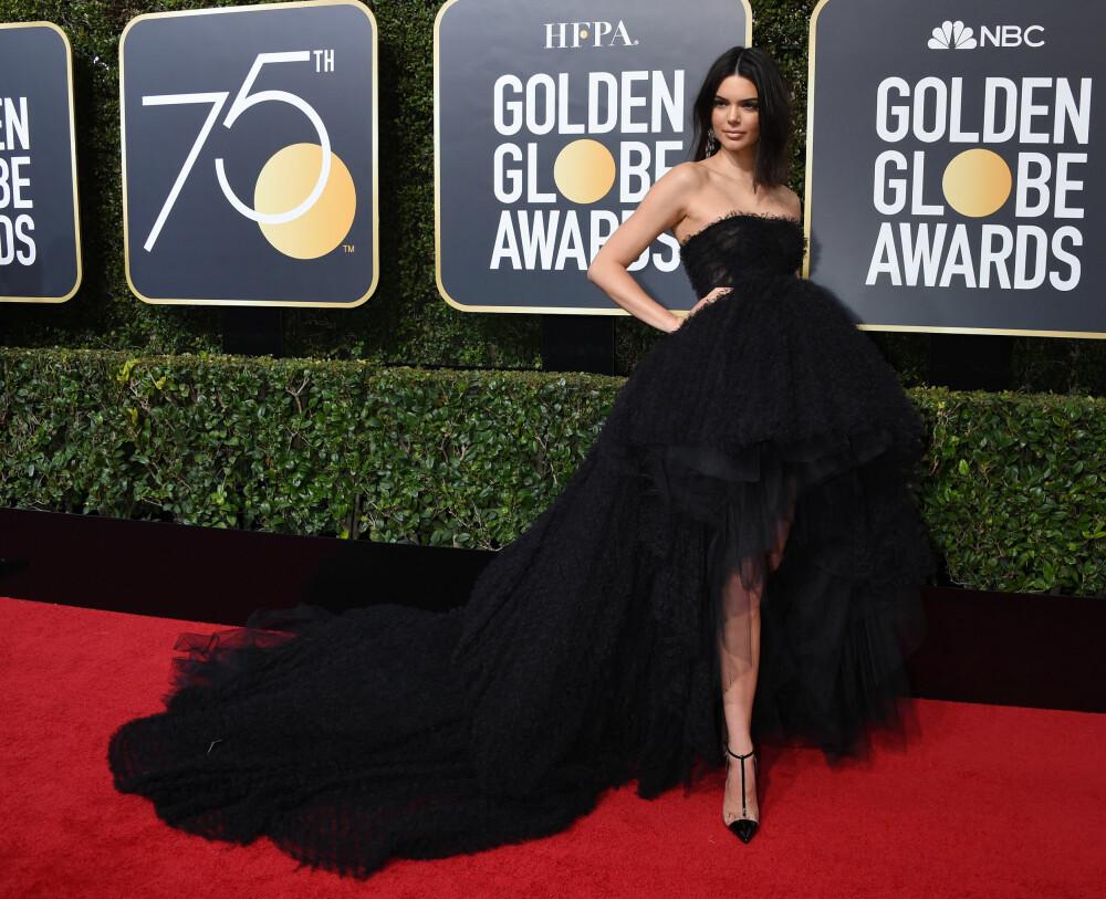 Kendall Jenner under årets Golden Globe Awards.