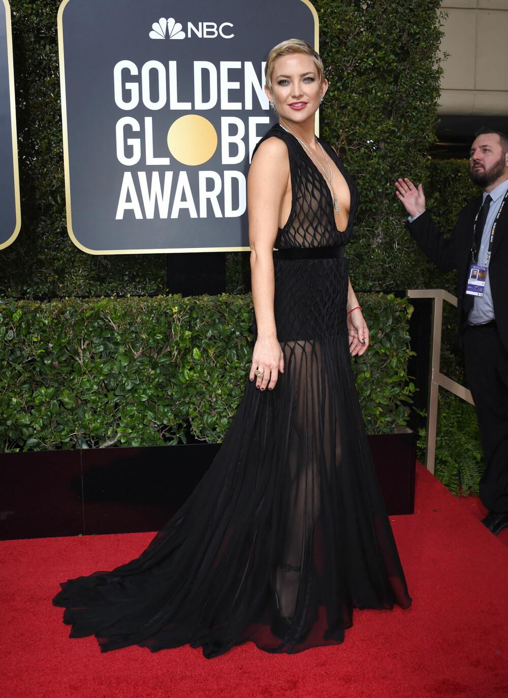 Kate Hudson under årets Golden Globe Awards.