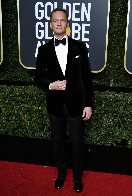 Neil Patrick Harris under årets Golden Globe Awards.