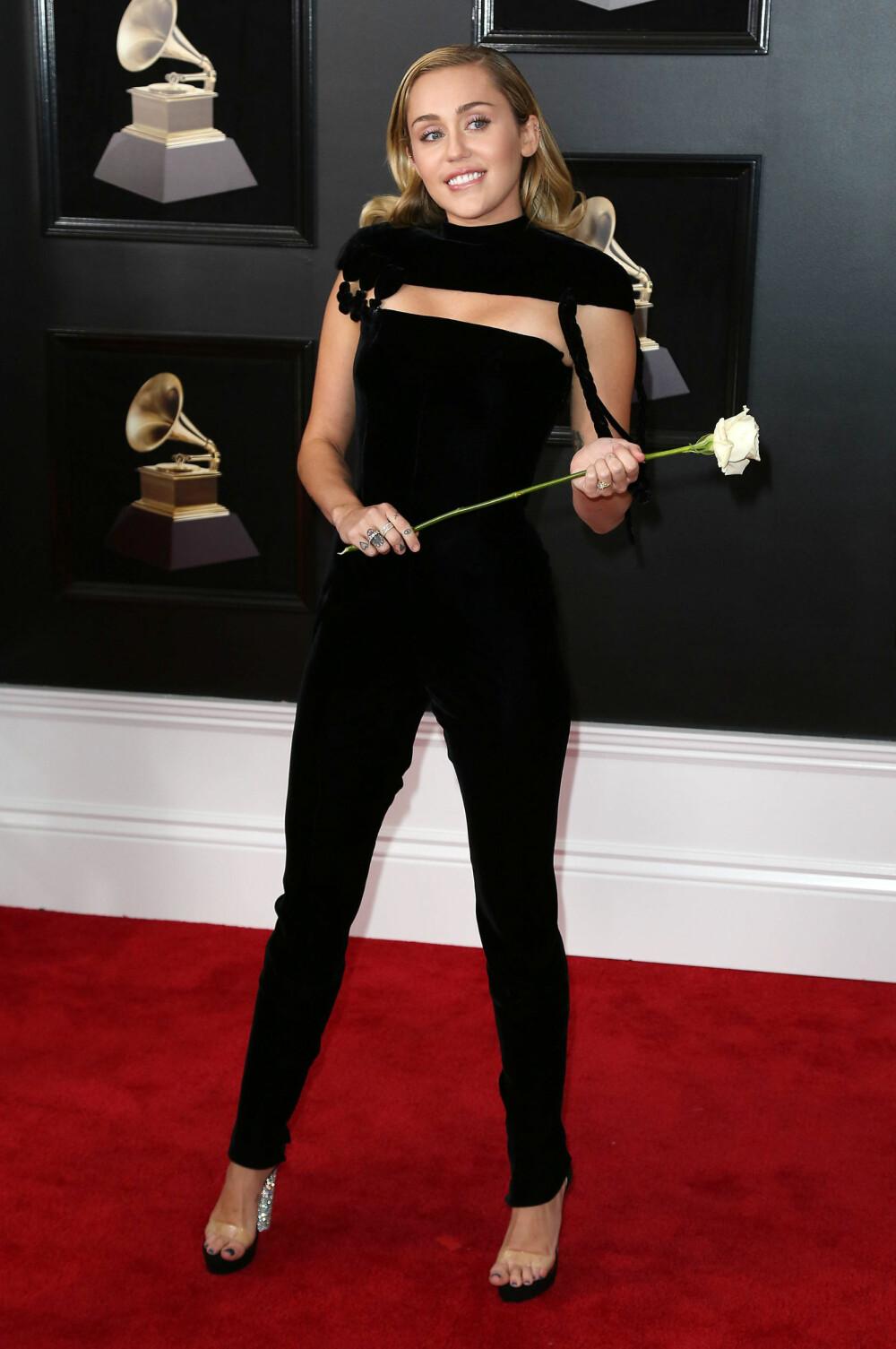 Miley Cyrusunder årets Grammy Awards