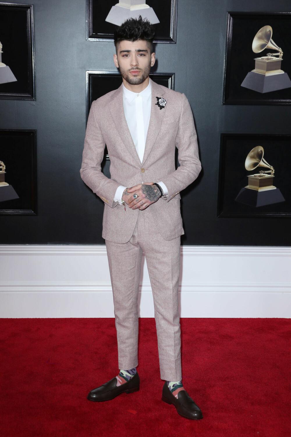 Zayn Malikunder årets Grammy Awards
