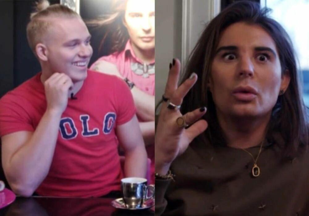 Erlend Elias forklarer lillebror Erik Sæther om hvordan det er å være med på reality-TV.