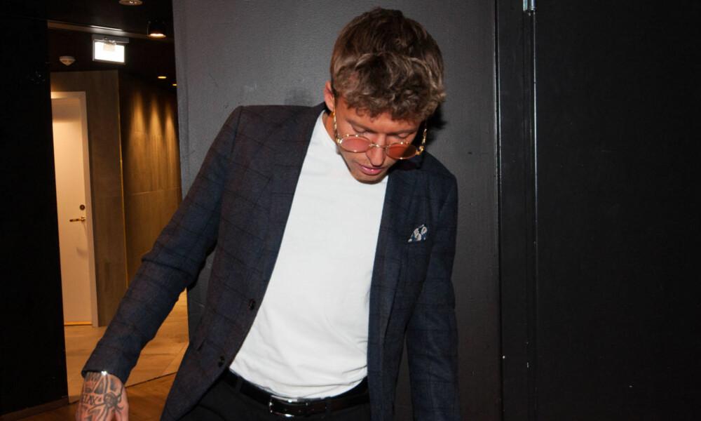 Carl Aksel Jansen under årets premierefest til Paradise Hotel 2018.
