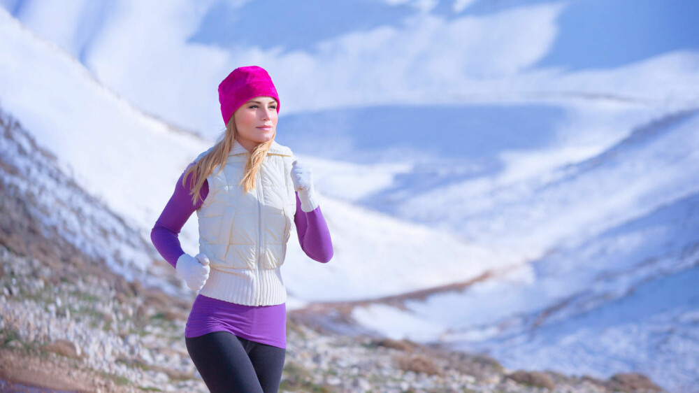 BLI STERKERE: Løping kan også gjøre deg sterkere.