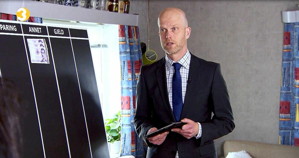 Hallgeir Kvadsheim i TV-programmet Luksusfellen, som er nominert til beste realityshow.