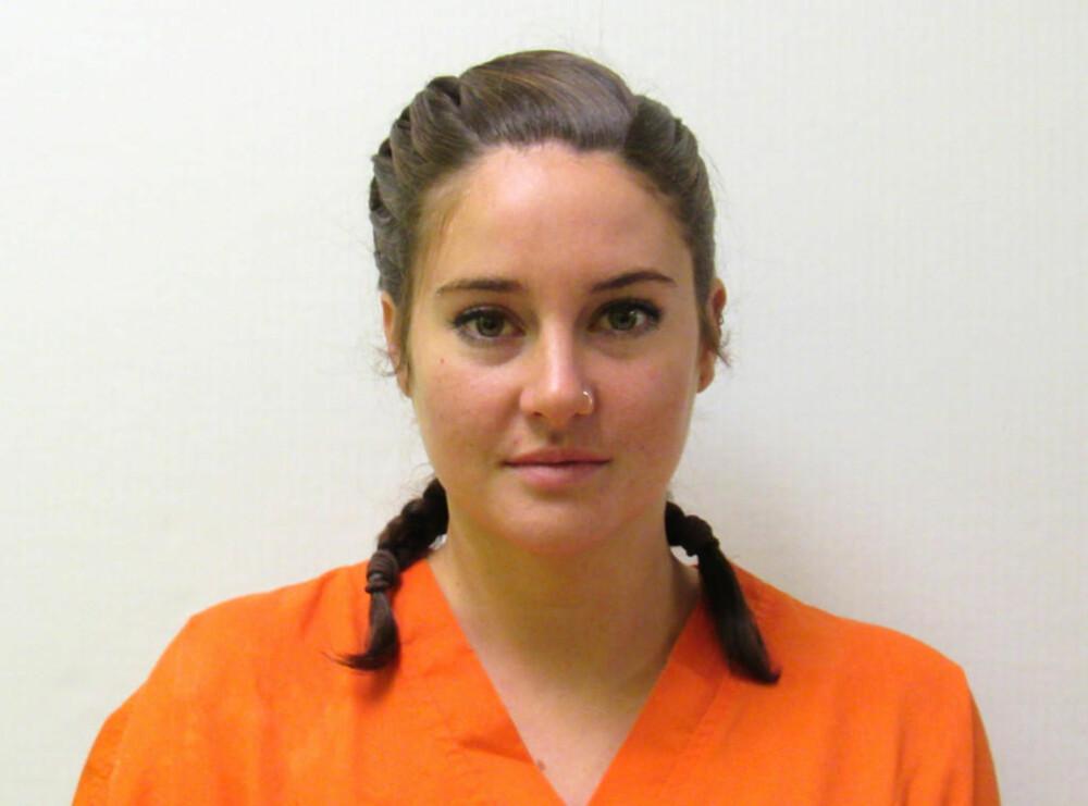 DEMONSTRERTE: Shailene Woodley ble arrestert da hun demonstrerte mot en oljerørledning.