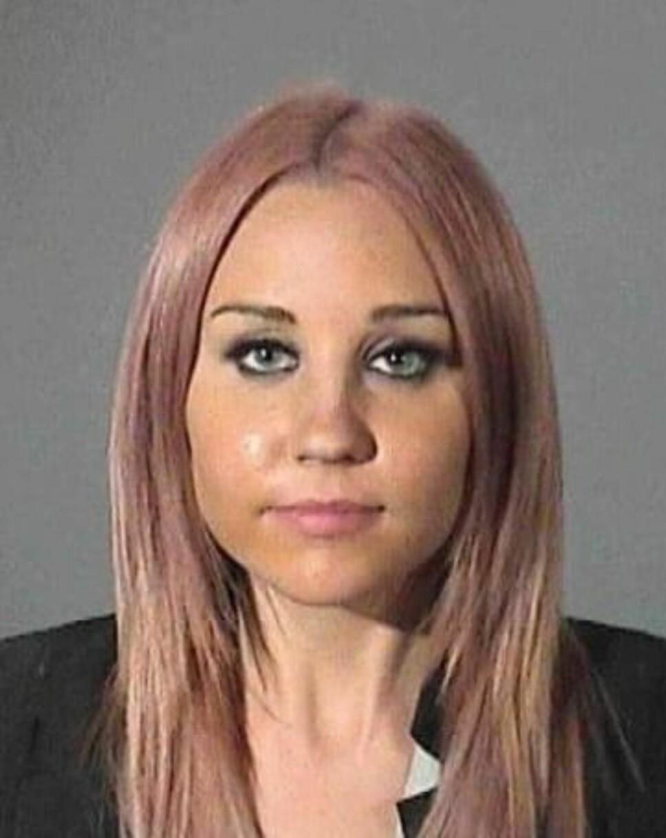 AMANDA BYNES: Ble arrestert for fyllekjøring.