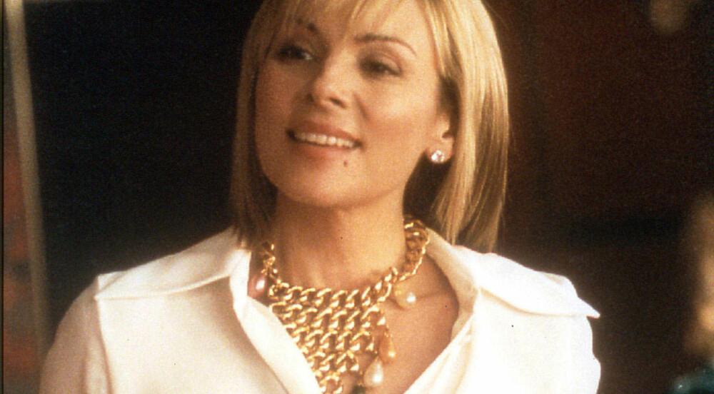 Verken kjæresten eller faren til Kim Cattrall var fornøyde med at hun skulle spille Samantha i Sex og singelliv. Selv var hun veldig fornøyd.
