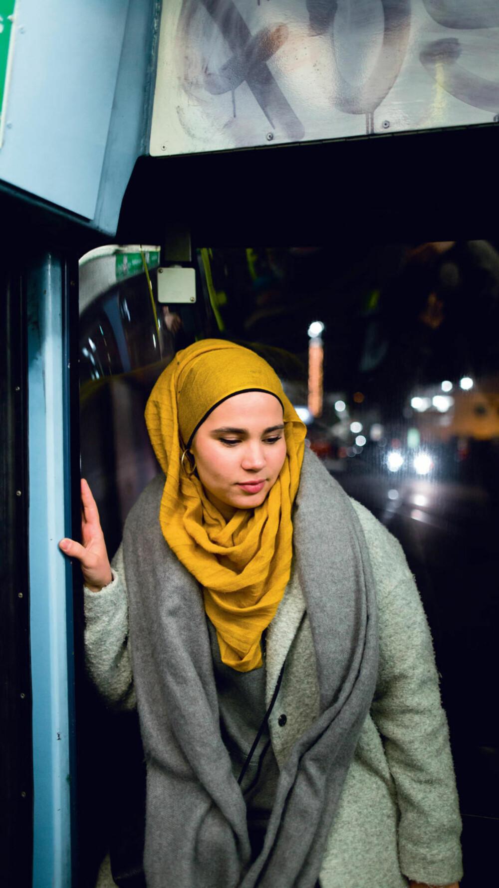 FORANDRING FRYDER: – Hijab er som vanlig klesstil. Det kommer an på humør, dag, årstid. Akkurat nå er jeg fan av jordfarger, forteller Iman.