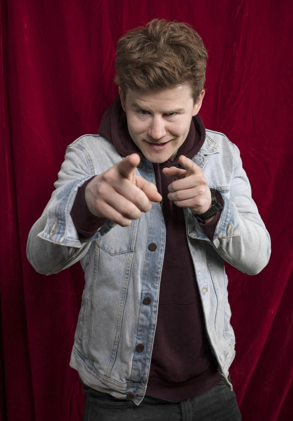 Nicolay Ramm stakk av med en av de gjeveste prisene under Gullruten 2018 - Publikumsprisen.