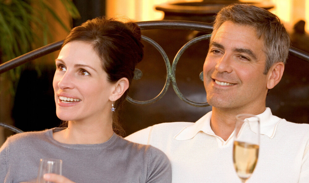 Julia Roberts og George Clooney ble gode venner under innspillingen av Ocean's Eleven og Twelve.