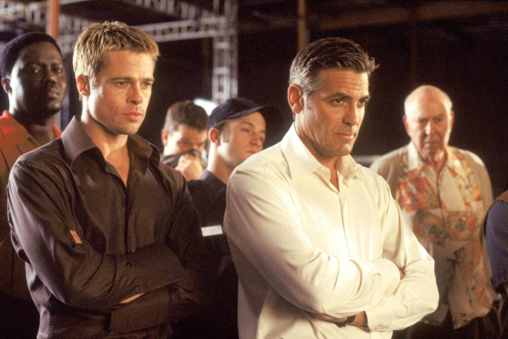 Brad Pitt og George Clooney gjorde mange rampestreker mot hverandre under innspillingen av Ocean's-filmene.