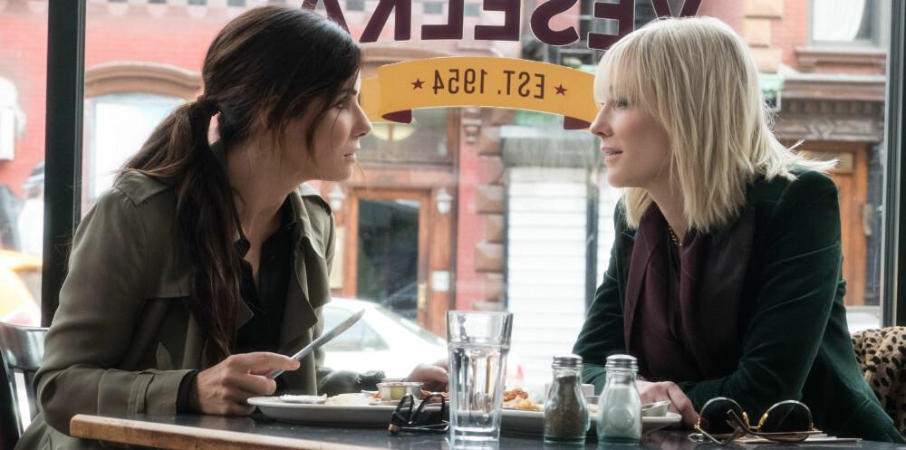 Sandra Bullock og Cate Blanchett i Ocean's 8.