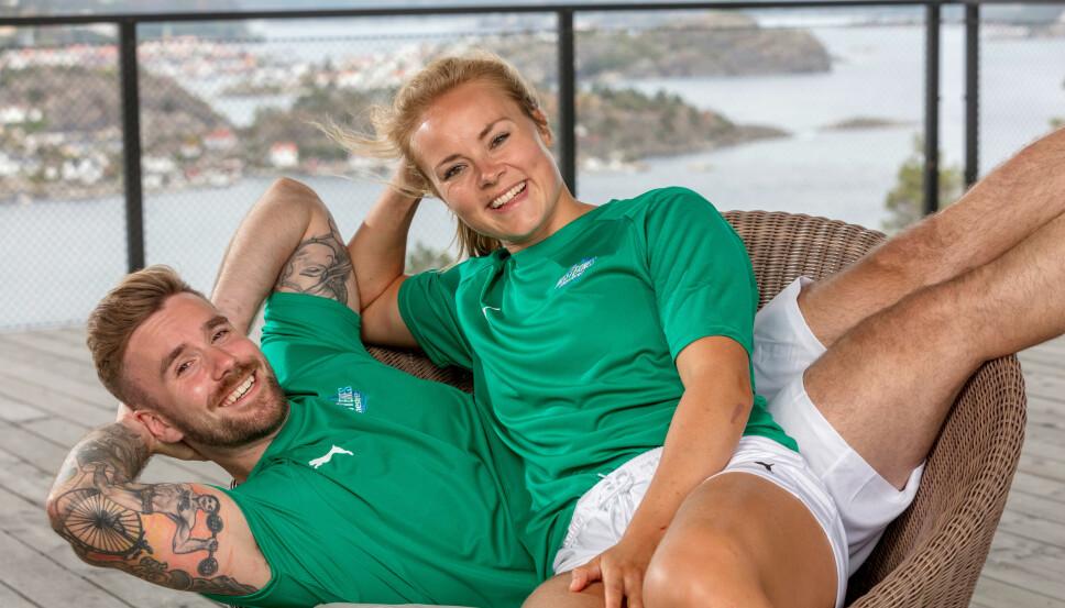 TAR OVER: Stian Blipp og Helene Olafsen tar over Senkveld fredag 14. september.