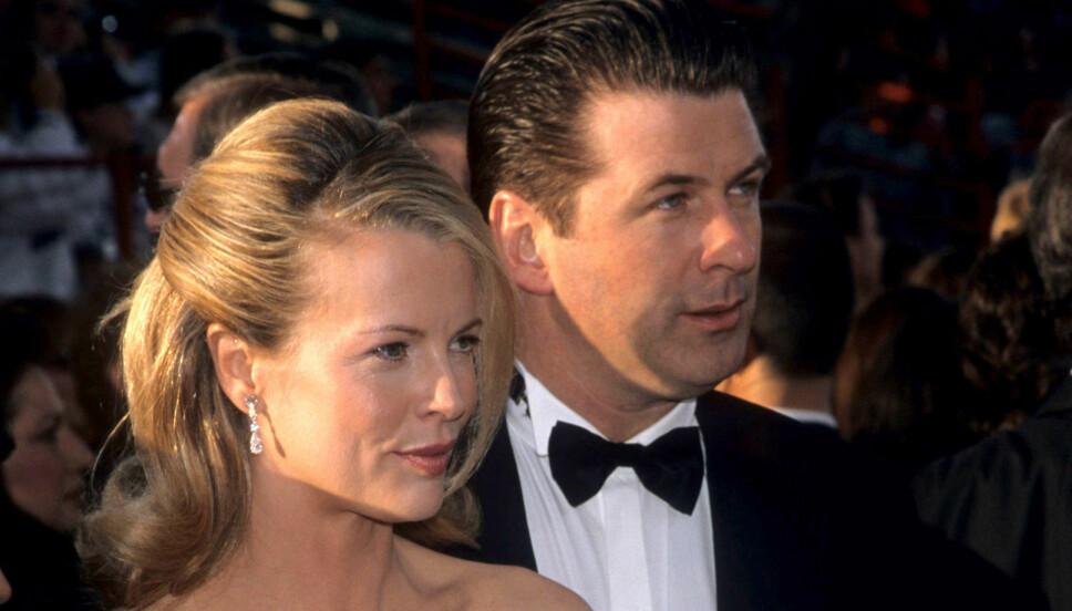 BERØMTE FORELDRE: Kim Basinger og Alec Baldwin er de berømte foreldrene til Ireland Basinger-Baldwin som nå gjør karriere som modell.