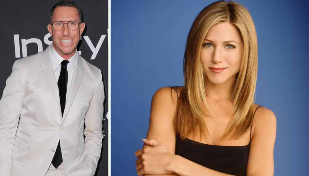GODE VENNER: Jennifer Anistons berømte frisyre ble skapt av Chris McMillan