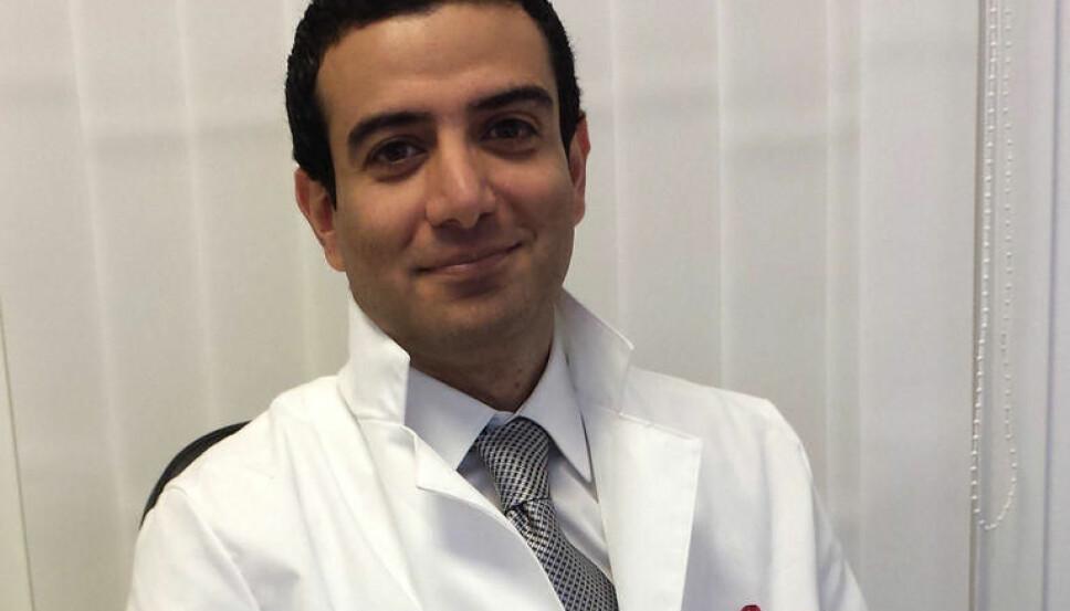 PLUTSELIG OPPSTÅTT MØRK HÅRVEKST kan skyldes hormonelle endringer i kroppen, sier hudlege Michael Zangani.
