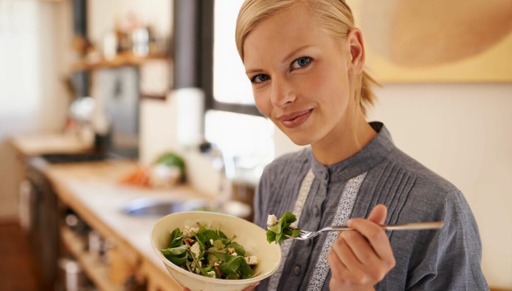 REDUSERER RISIKO: Å spise plantebasert reduserer risikoen for mange livsstilssykdommer.