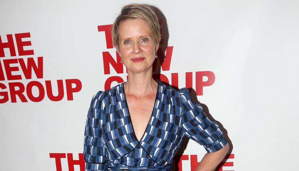 HOLDT DET HEMMELIG: «Sex og singelliv»-skuespiller Cynthia Nixon valgte først å holde sykdommen skjult for pressen.