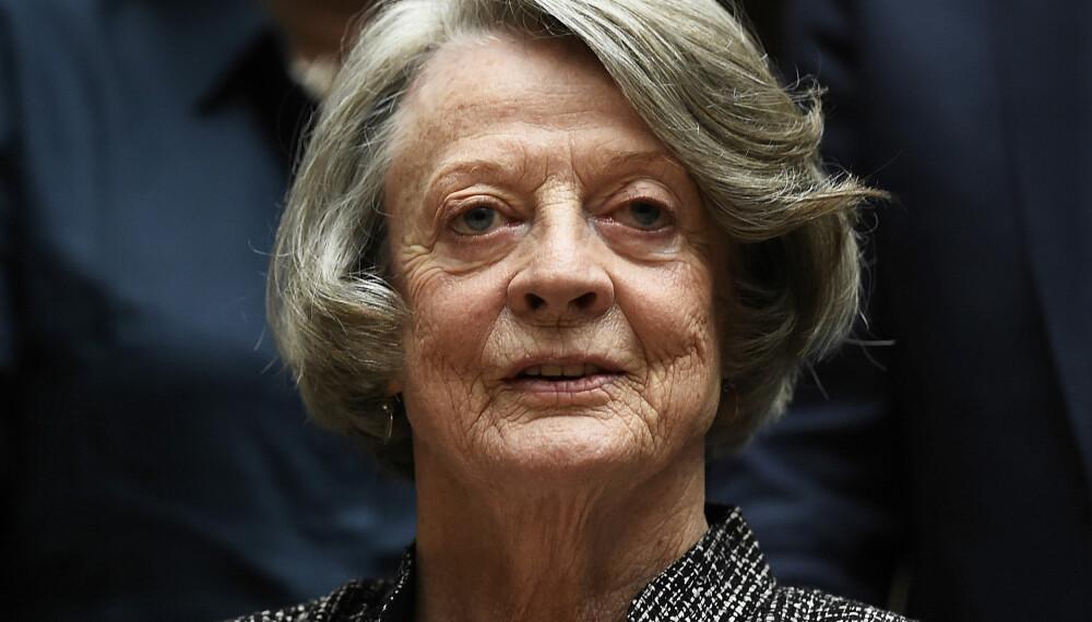 RAMMET I 2007: Dame Maggie Smith fikk diagnosen brystkreft i 2007.