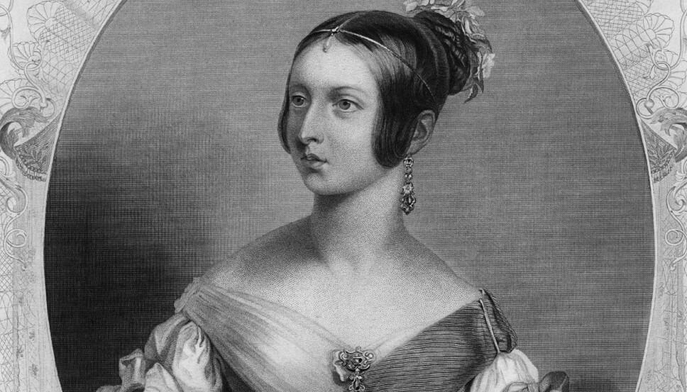 Men så annonserte dronning Victoria at sminke var vulgært, og igjen ble det naturlige ansiktet idealet.