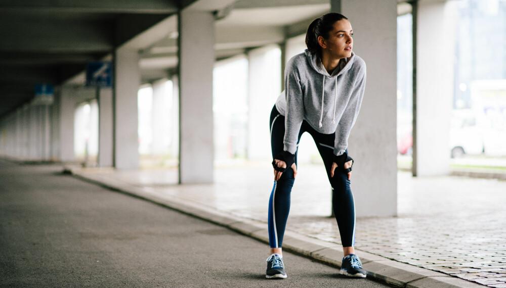 FOR MYE AV DET GODE? Å trene for mye kan påvirke treningsresultatene dine i negativ retning fordi det gjør at kroppen ikke klarer å hente seg inn.