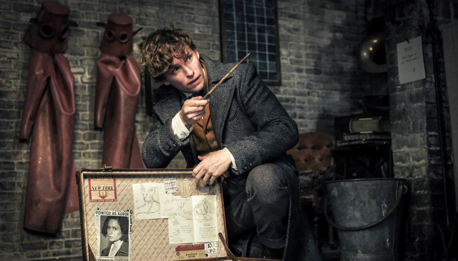 Eddie Redmayne i en scene fra «Fantastic Beasts: The Crimes of Grindelwald».