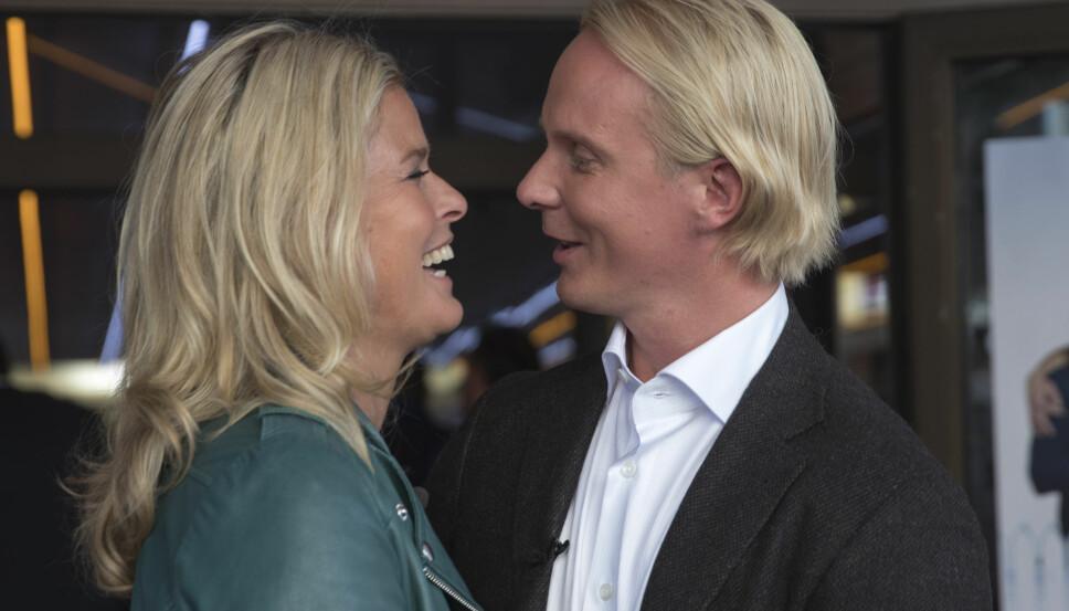 FORELSKET: Vendela og Petter ble et svært populært par når de stod frem som kjærester. Nå skal de snart flytte sammen