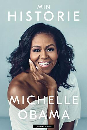 BOKAKTUELL: Michelle Obama er i disse dager aktuell med selvbiografien «Min historie».